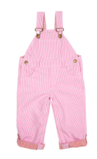 Dotty Dungarees Pink Stripe, $58.60.png