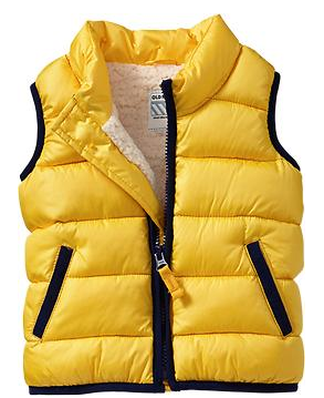 oldnavy sherpa-lined frost free vests for baby in golden oldie.png