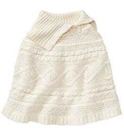 Gap Kids Cable Poncho.png