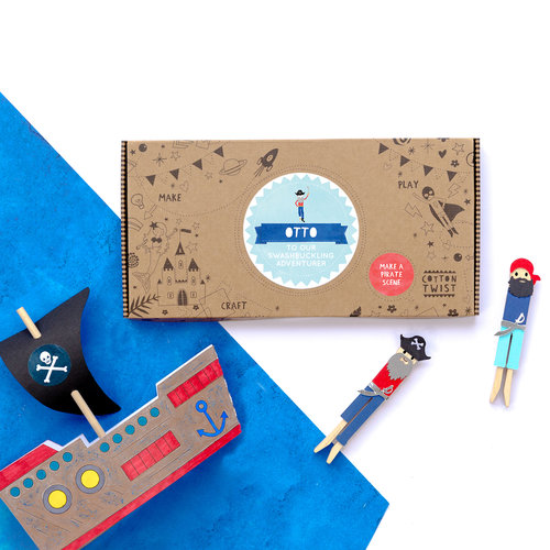 Cotton Twist Pirate Ship Scen Craft It Kit, $18.16-.jpg