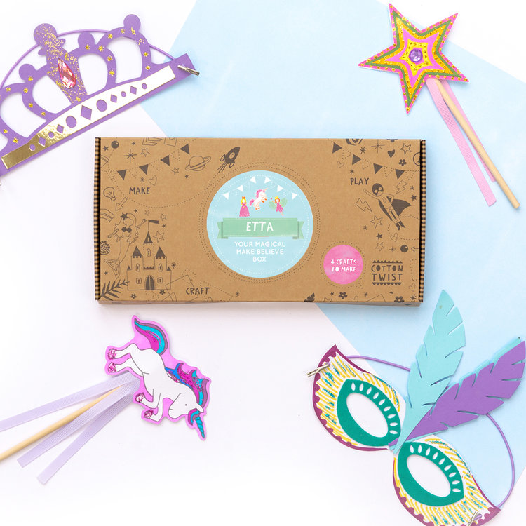 Cotton Twist Make Believe Craft Kit Creativity Box, $18.16-.jpg