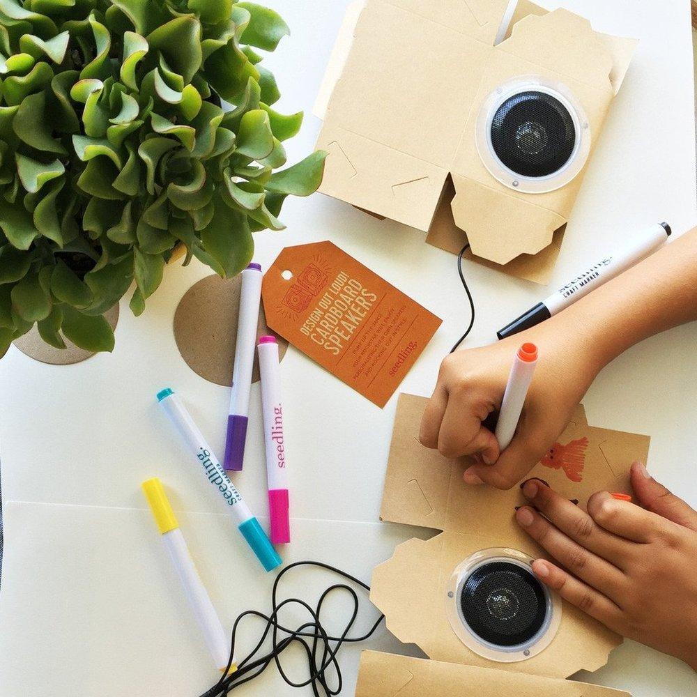 Seedling Design Out Loud! Cardboard Speakers, $24.99-.jpg