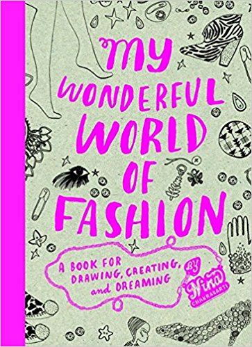 My Wonderful World of Fashion Coloring Book, $16-.jpg