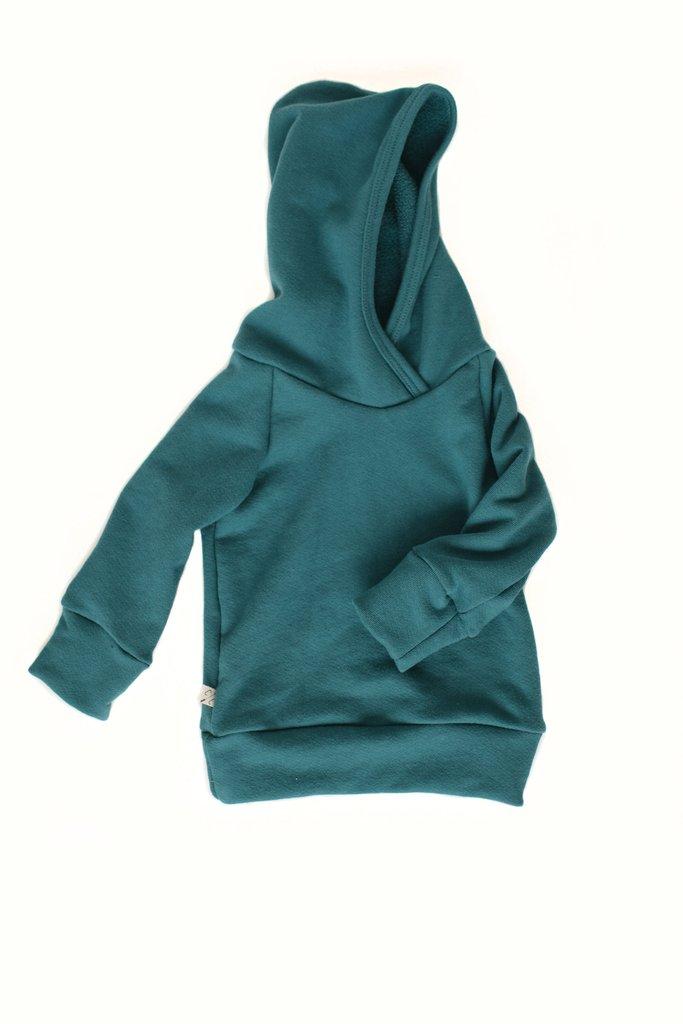 Childhoods Clothing Deep Teal Sweatshirt, $40-.jpeg