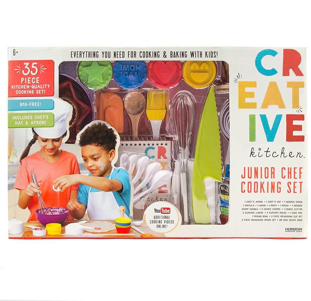 Creative Kitchen Junior Chef Set, $40-.jpg