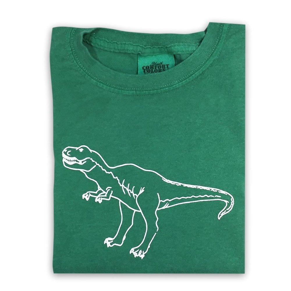 Honey Bee Tees T-Rex Long Sleeve Tee, $21.50-.jpeg