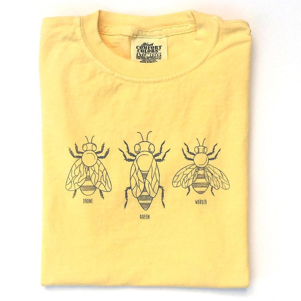 Honey Bee Tees Honey Bees Long Sleeve Tee, $21.50-.jpeg