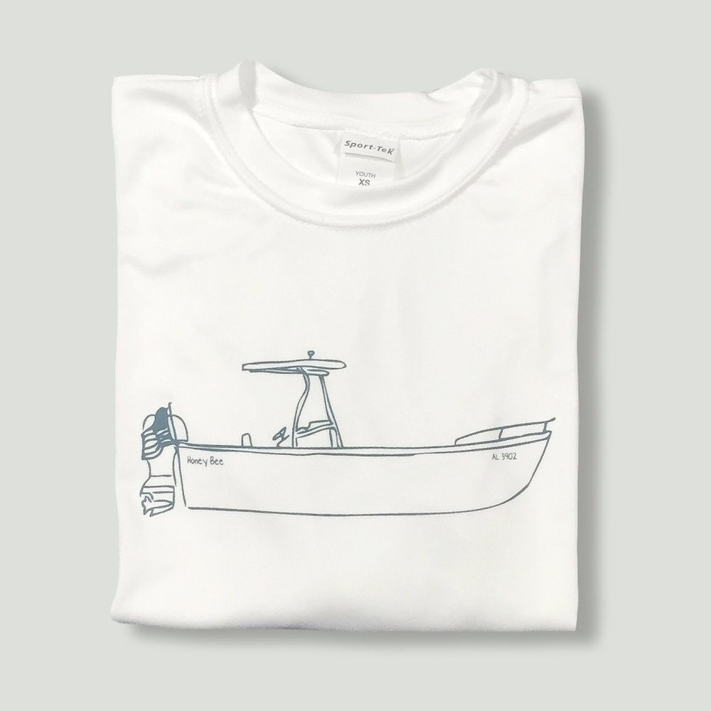 Honey Bee Tees Boat Ride Tee, $21.50-.jpeg