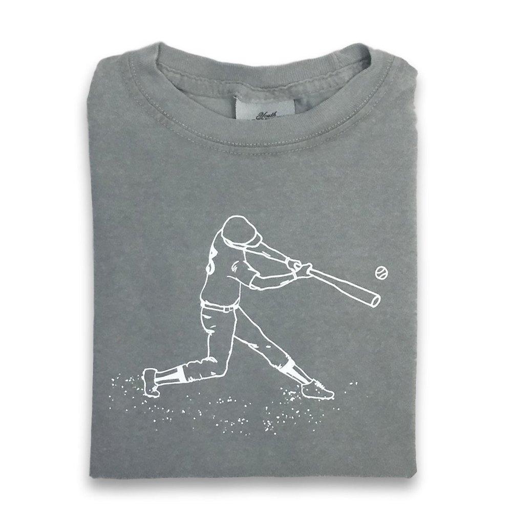 Honey Bee Tees Baseball Player Tee, $17.50-.jpeg