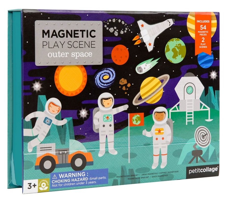 Outer Space Magnetic Play Scene, $24-