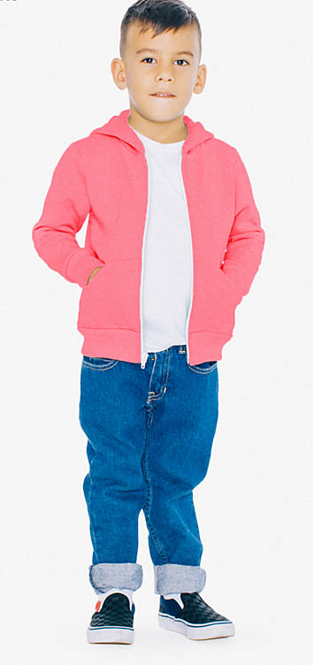 American Apparel - Toddler Flex Fleece Hoodie