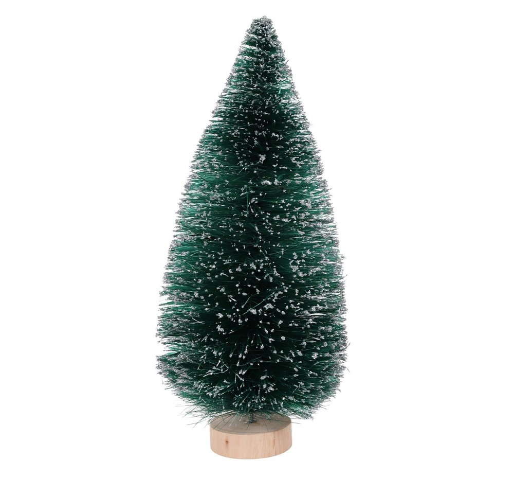 Large Bottle Brush Christmas Tree Green, $8-.jpeg