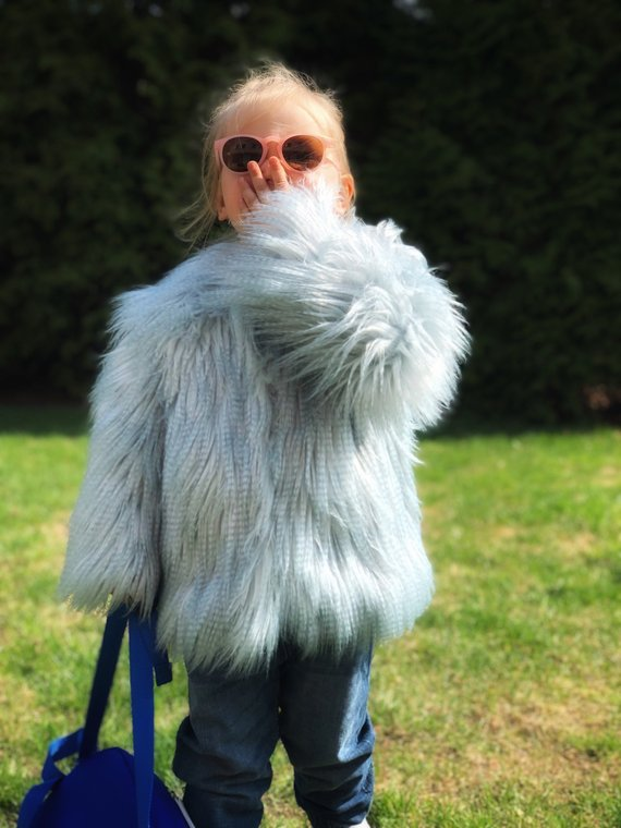 Lookhunter on Etsy Cloudy Blue Faux Fur Coat, $46.75-.jpg