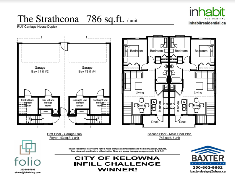 Inhabit Residential Strathcona Plan