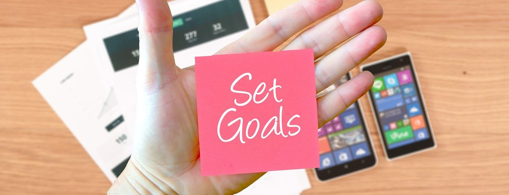 Write down your goals!