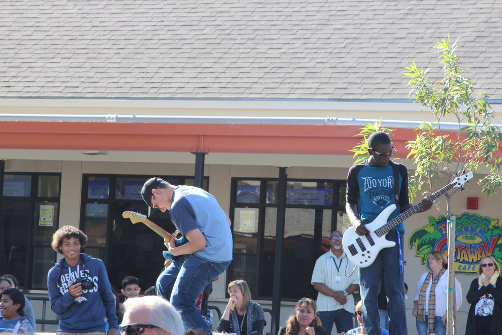 Blue Ribbon Assembly at Richardson Quad - Rock Band