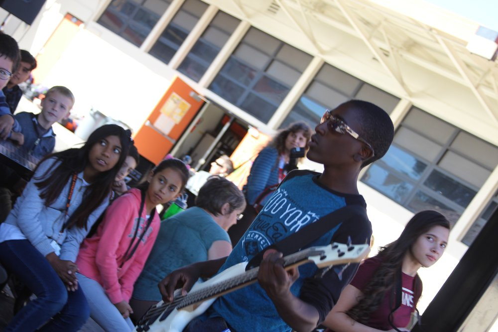 Rock Band Blue Ribbon Assembly 2016