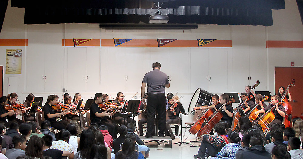 Electives Assembly - Intermediate Orchestra - April 14th, 2017