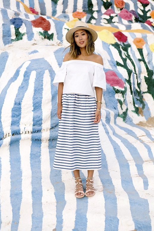 10-Le-Fashion-31-Stylish-Ways-To-Wear-An-Off-The-Shoulder-Look-White-Tibi-Top-Striped-Skirt-Aimee-Song-Of-Style.jpg