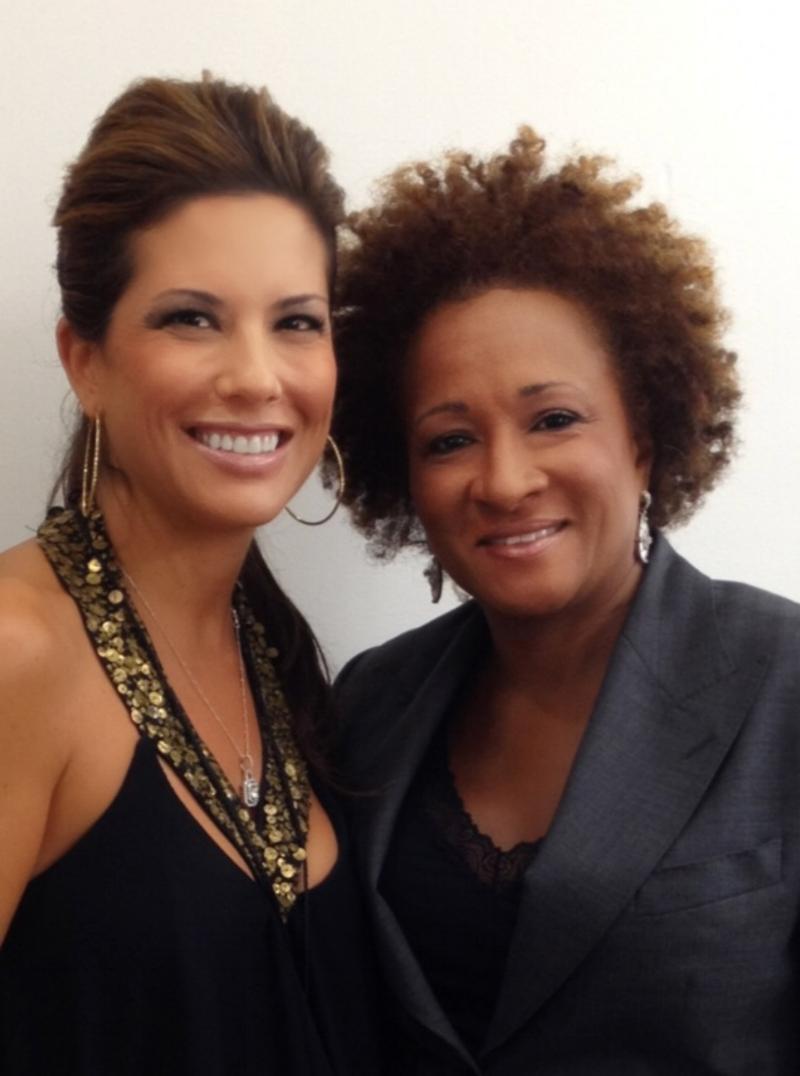 Amanda Sanders with client Wanda Sykes