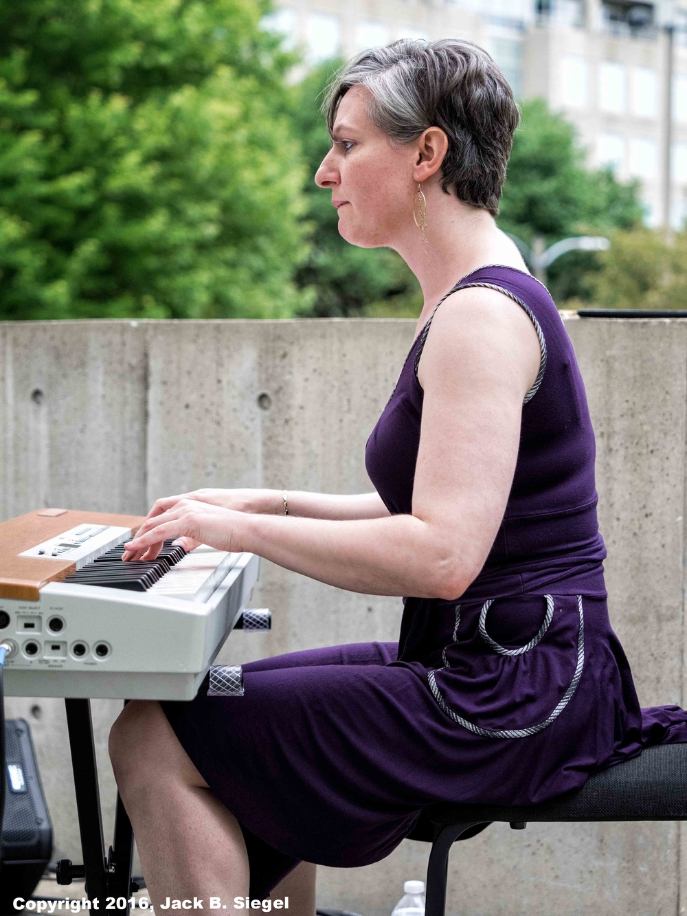 Lisa Kaplan on Keyboards
