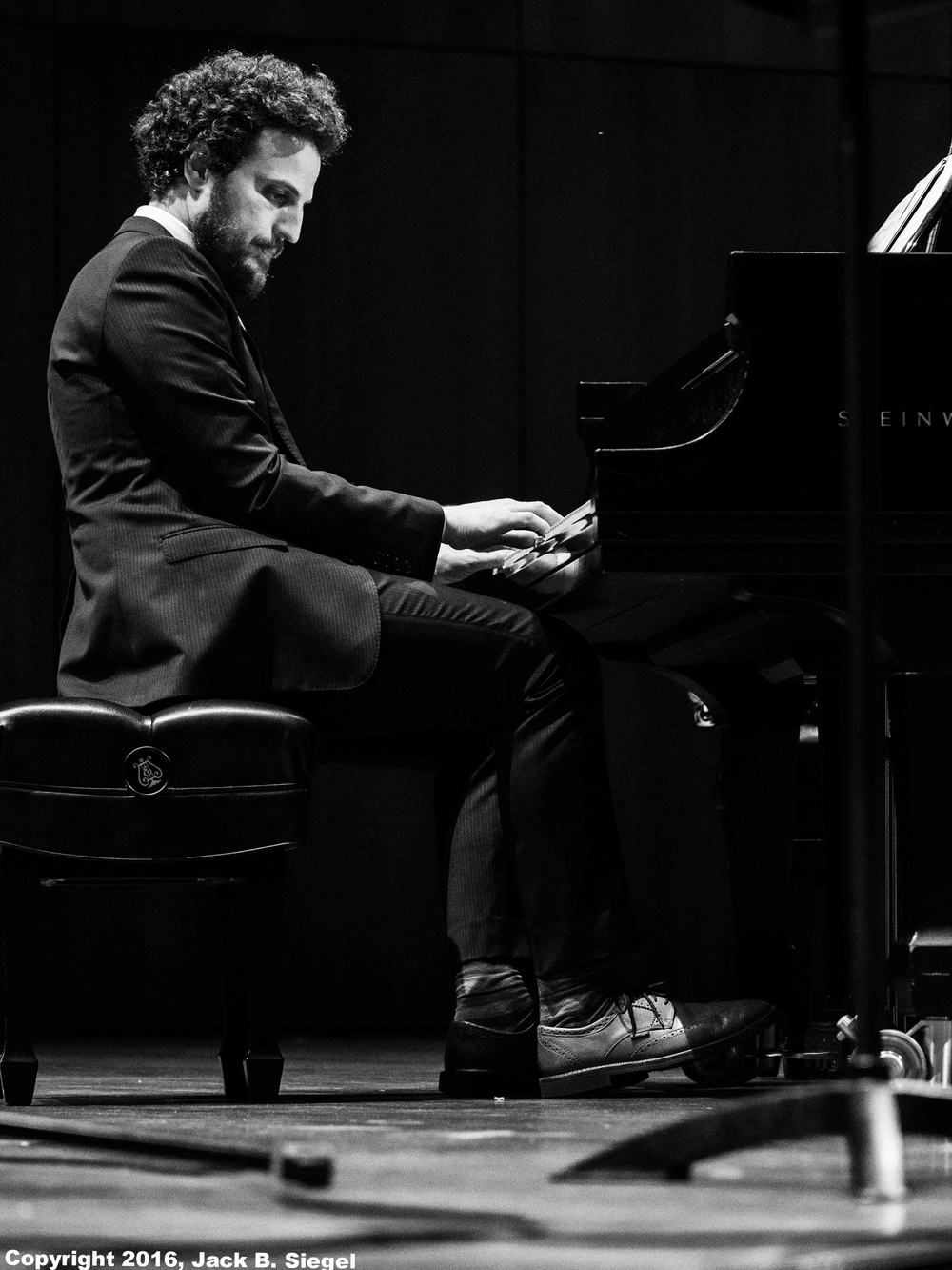 Ehud Asherie on Piano