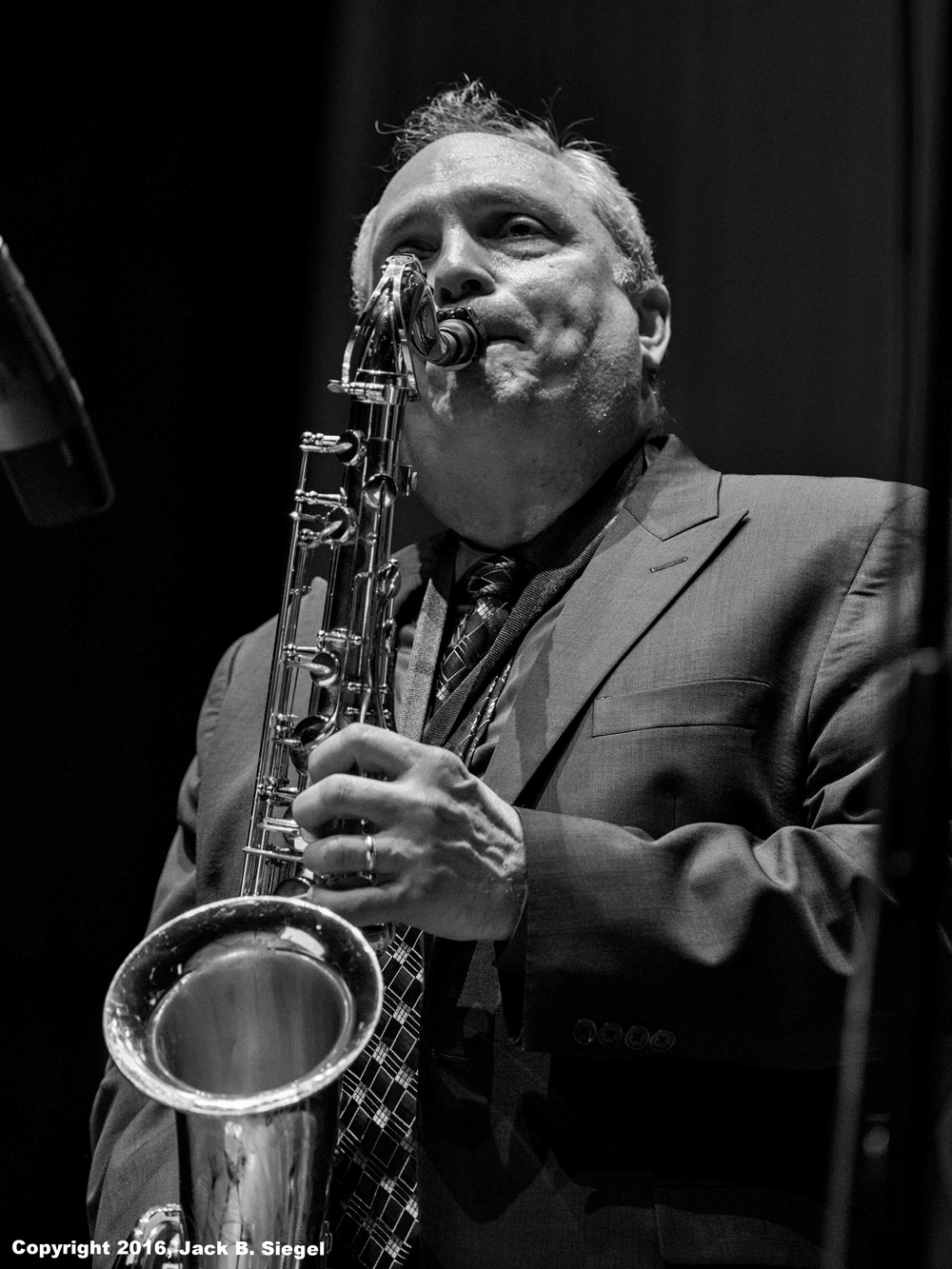 Ken Peplowski on Sax