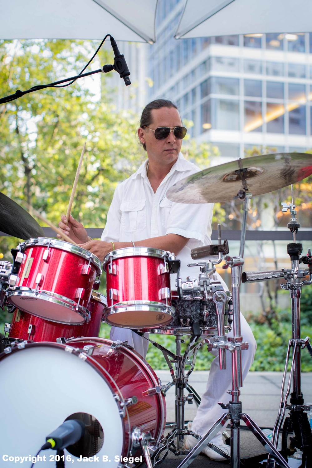 Jean-Christophe Leroy on Drums
