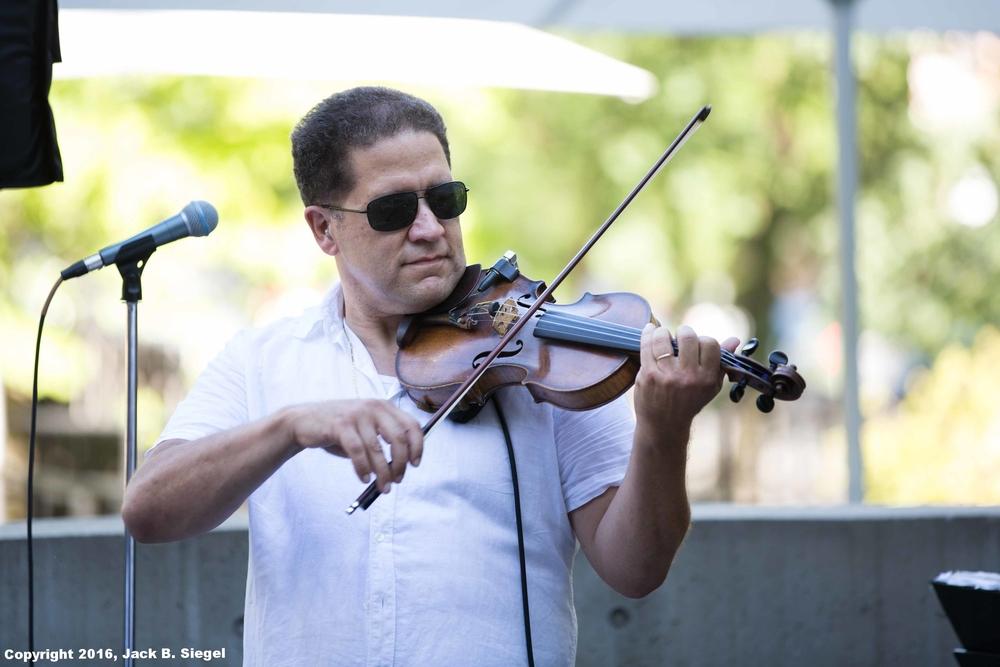 James Sanders on Violin