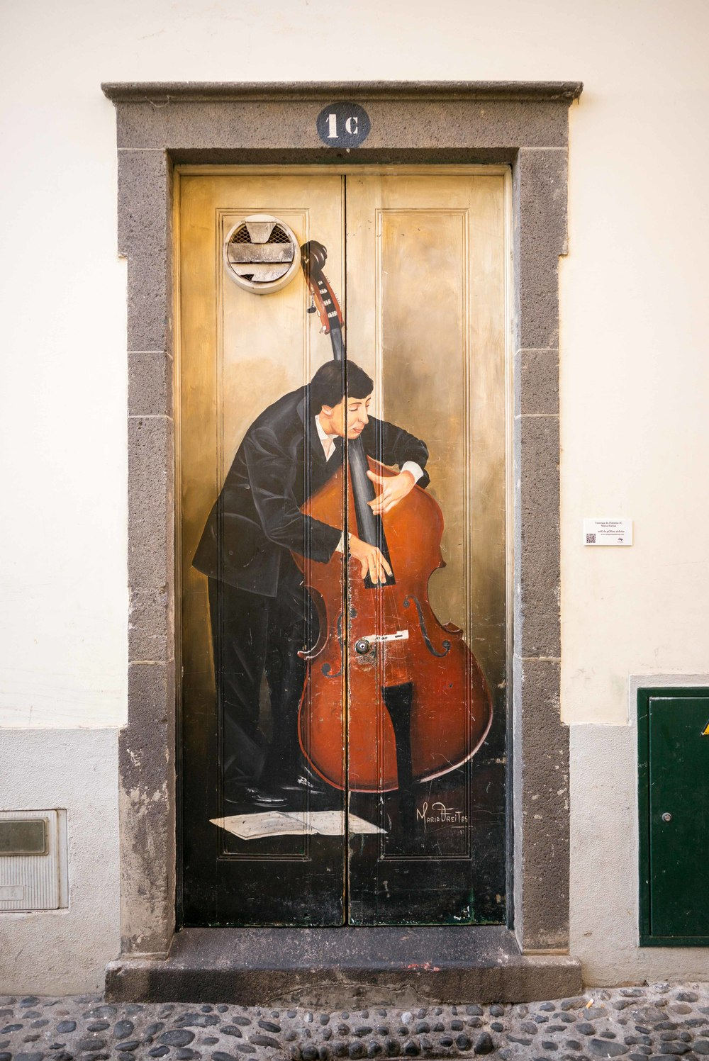 Bass in the Doorway
