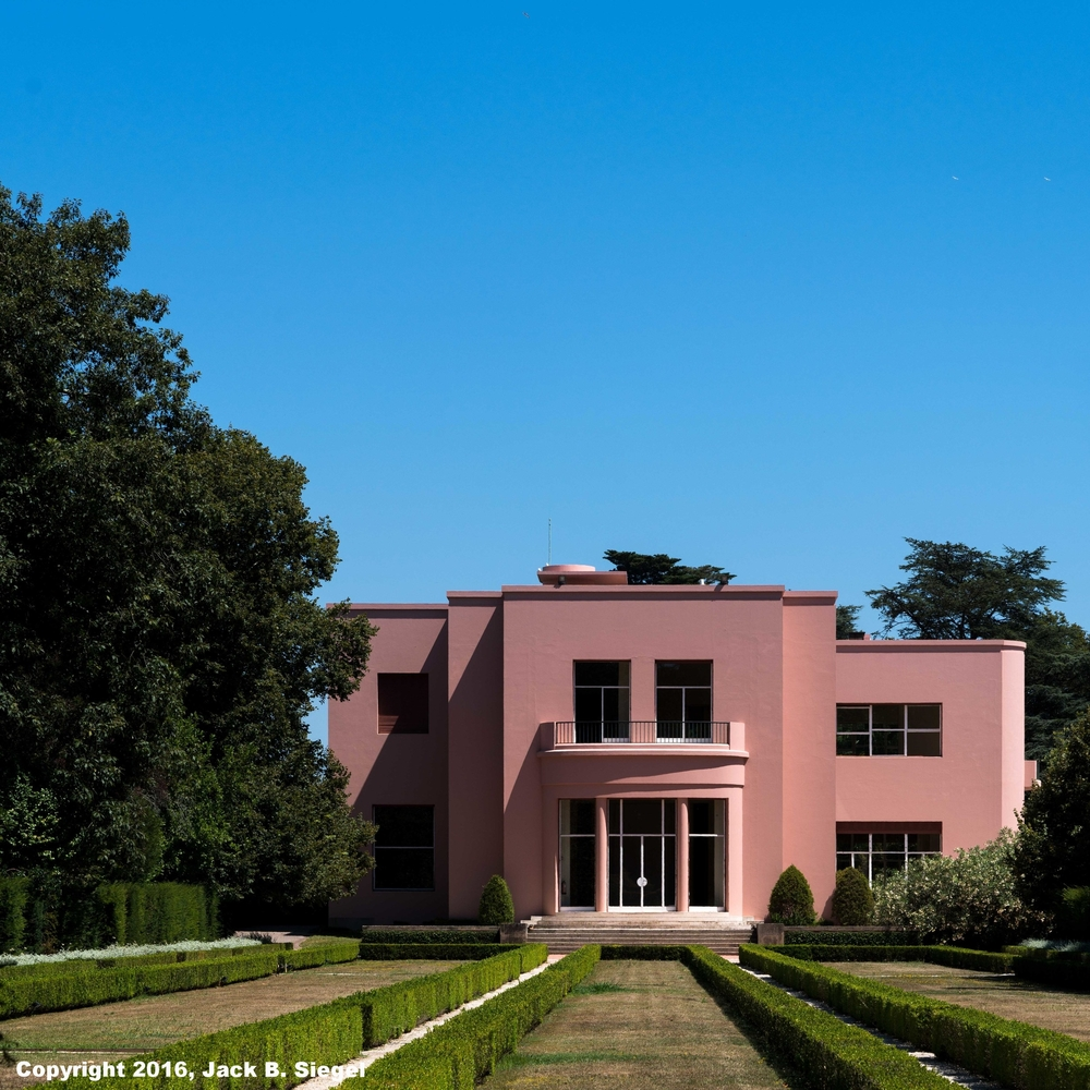 Case de Serralves--Side Elevation