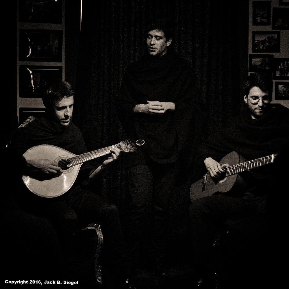 Students Performing Fado