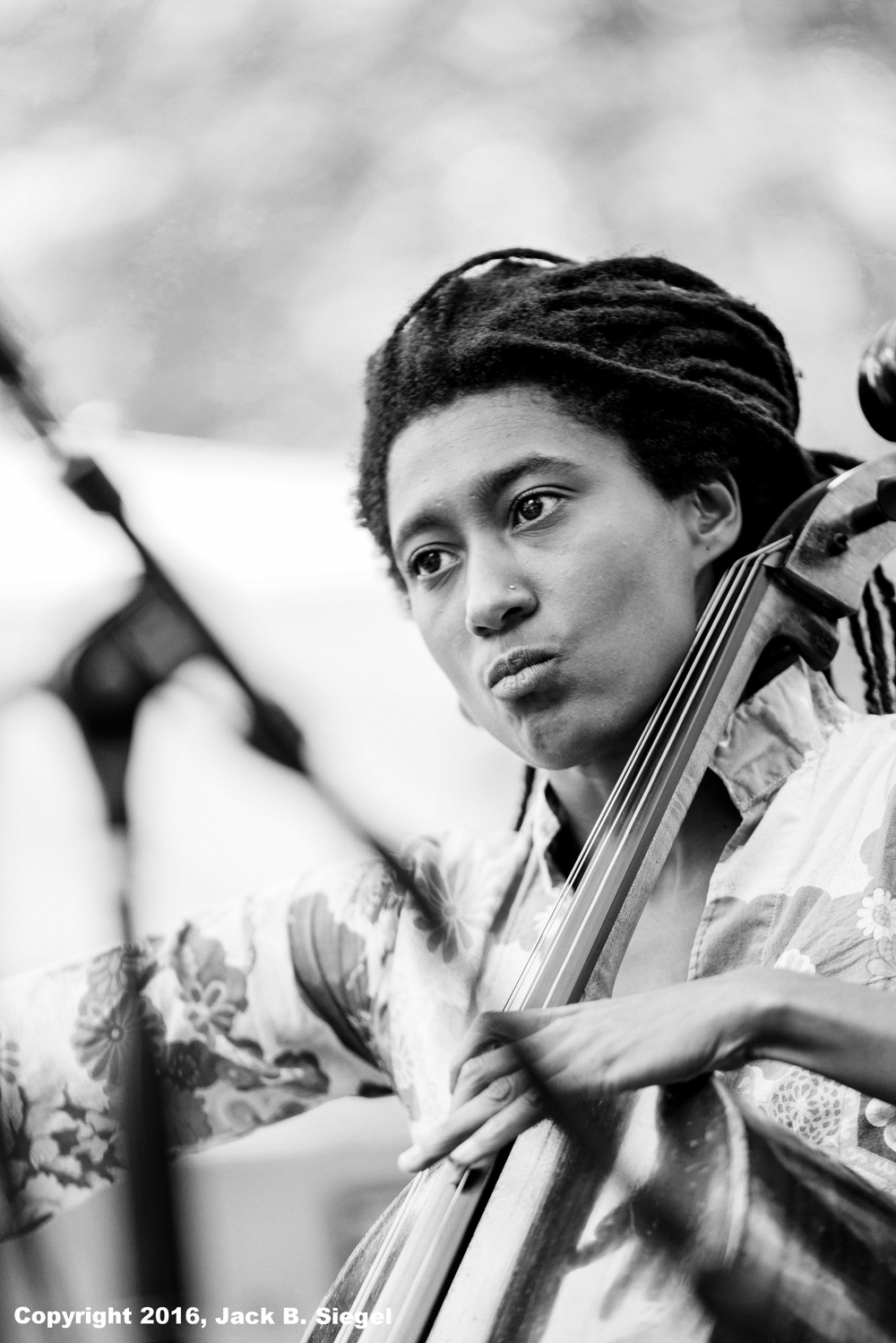 Intensity: Tomeka Reid on Cello