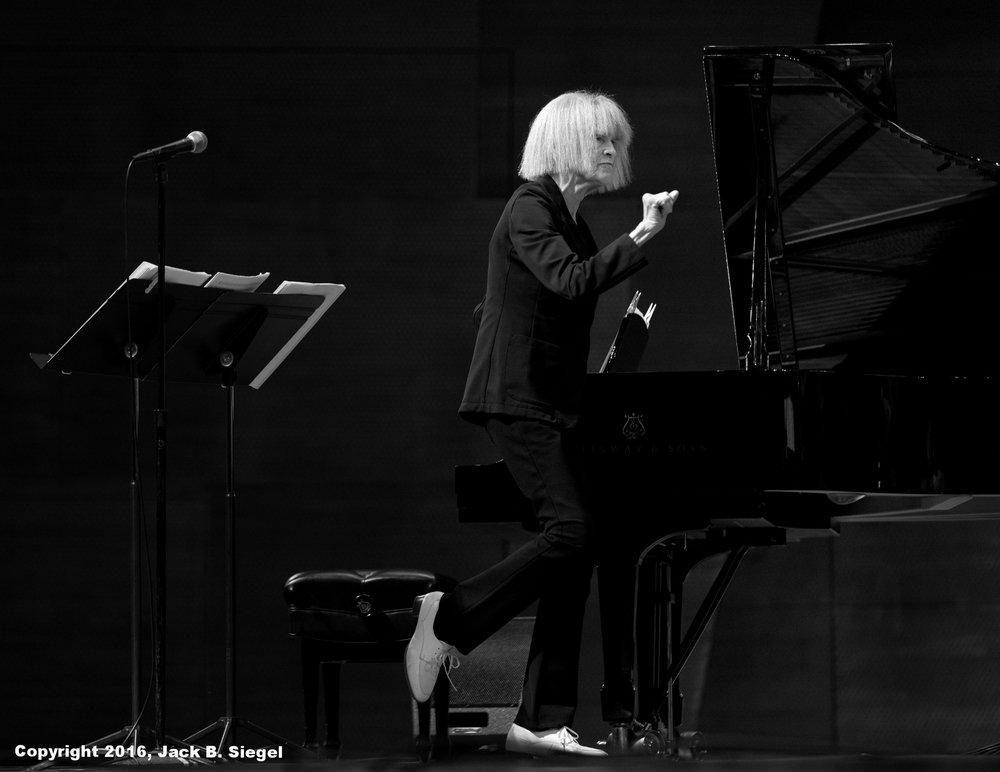 Carla Bley Conducting