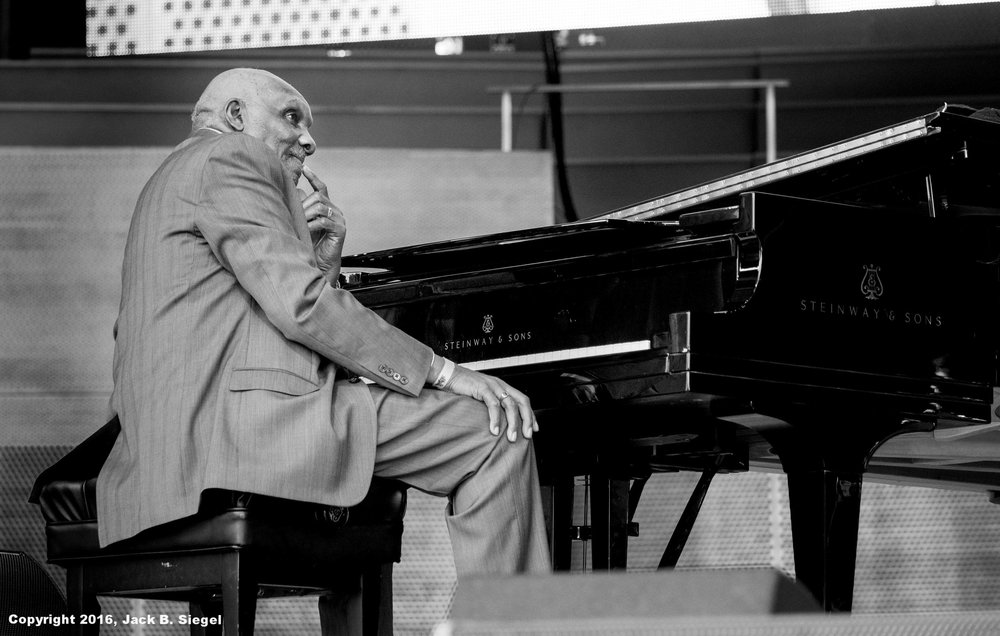 Harold Mabern in Thought