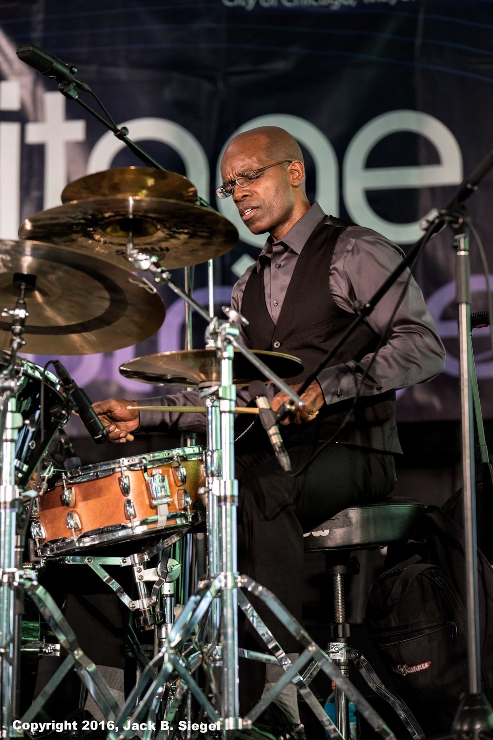 Rudy Royson on Drums with J.D. Allen