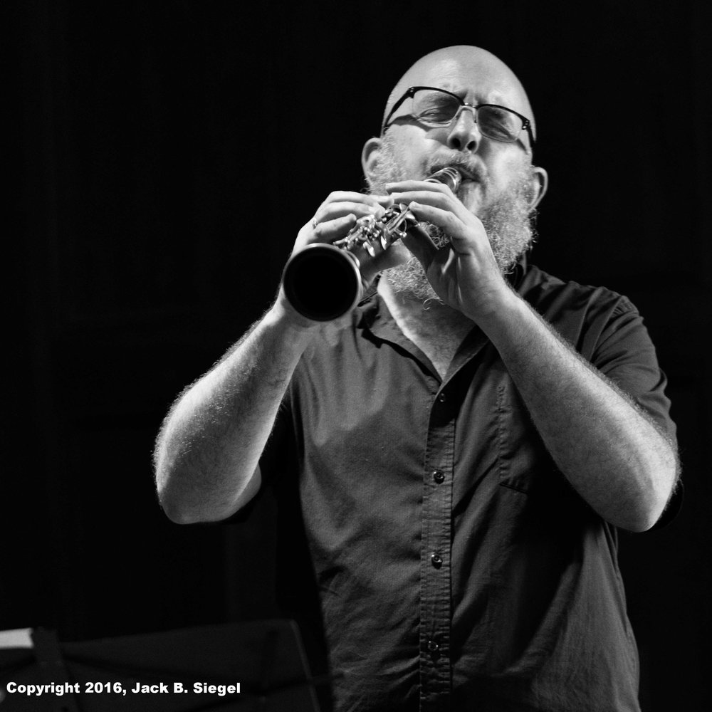 James Falzone on Clarinet