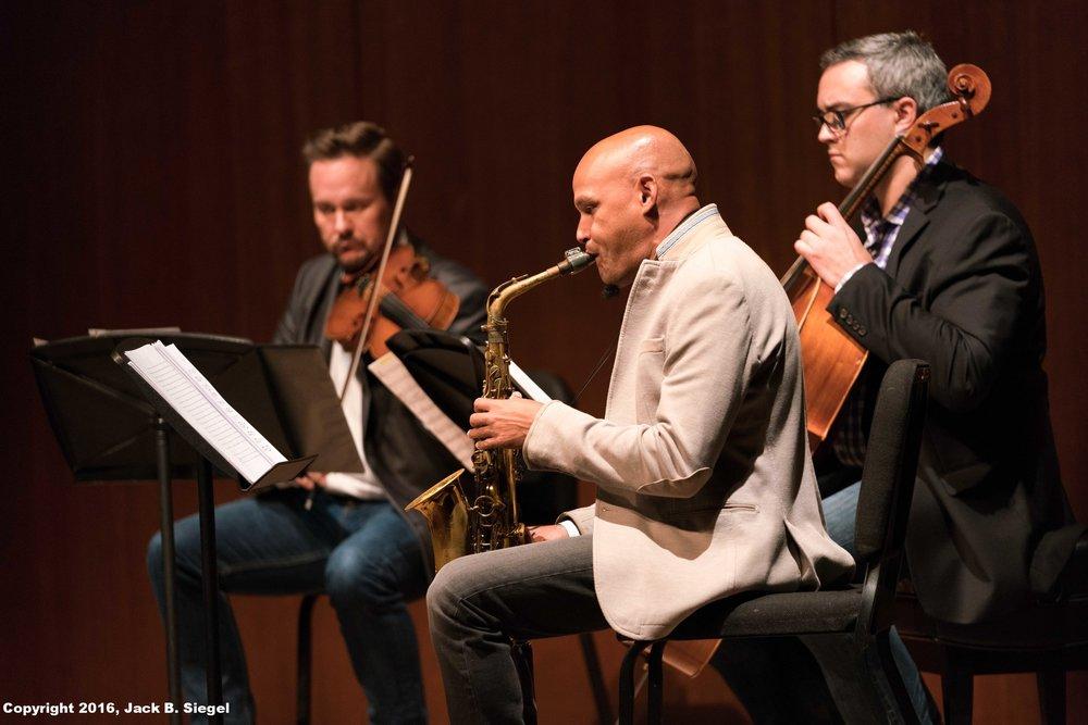 Miguel Zenon and the Spectral Quartet