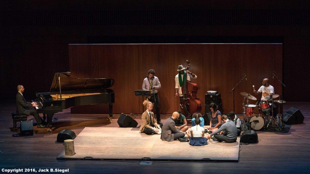 M.A.D.D. Rhythms, with Isaiah Spencer (d), Junius Paul (b), Amr Marcin Fahmy (p), and Greg Ward (s)