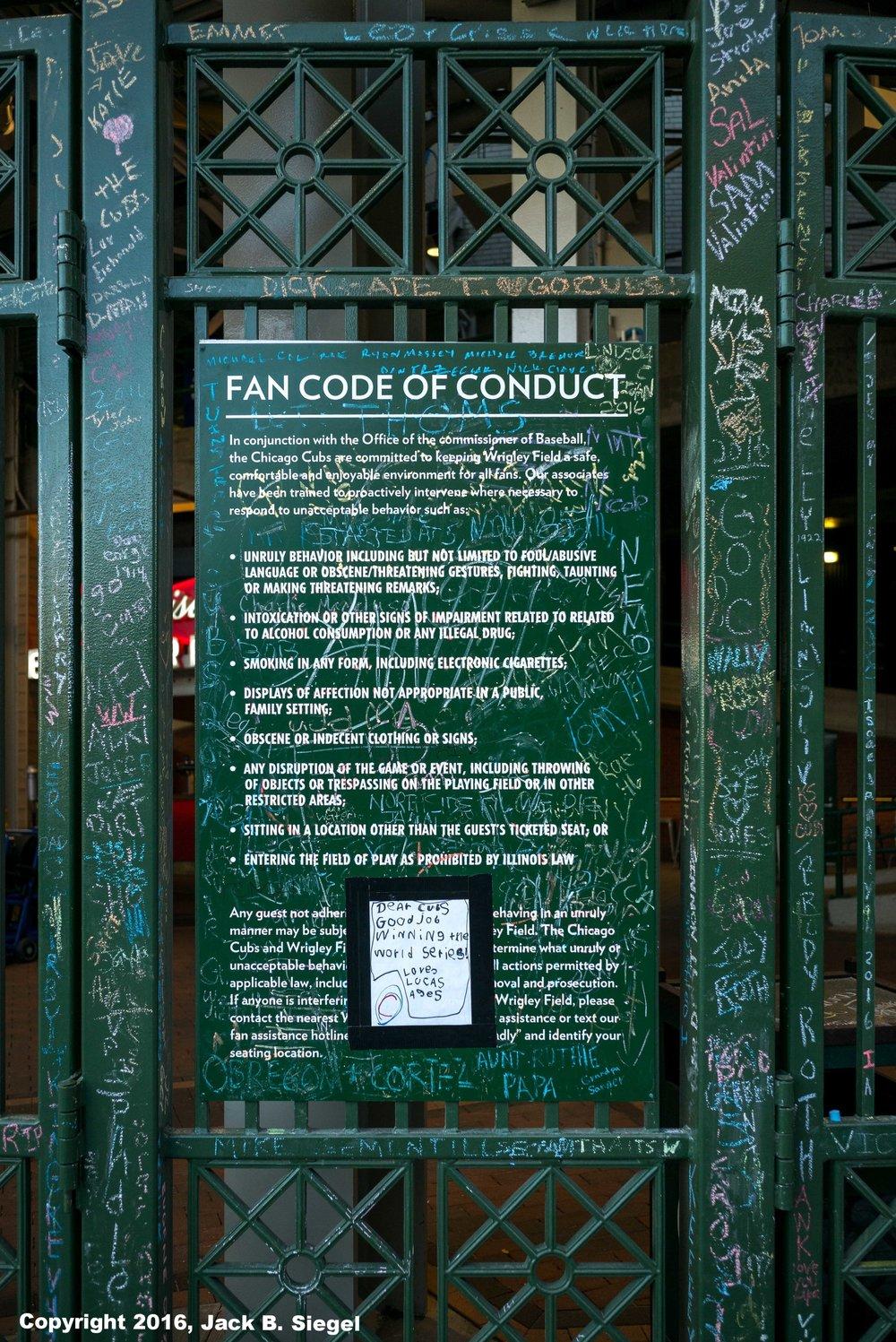 Fan Rules