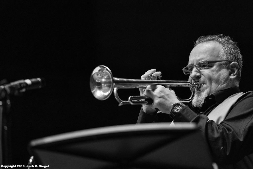 Diego Urcola on Trumpet