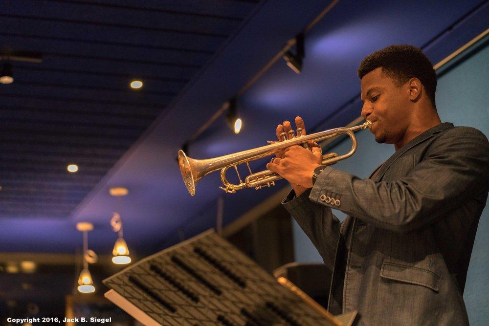 Justin Copeland on Trumpet