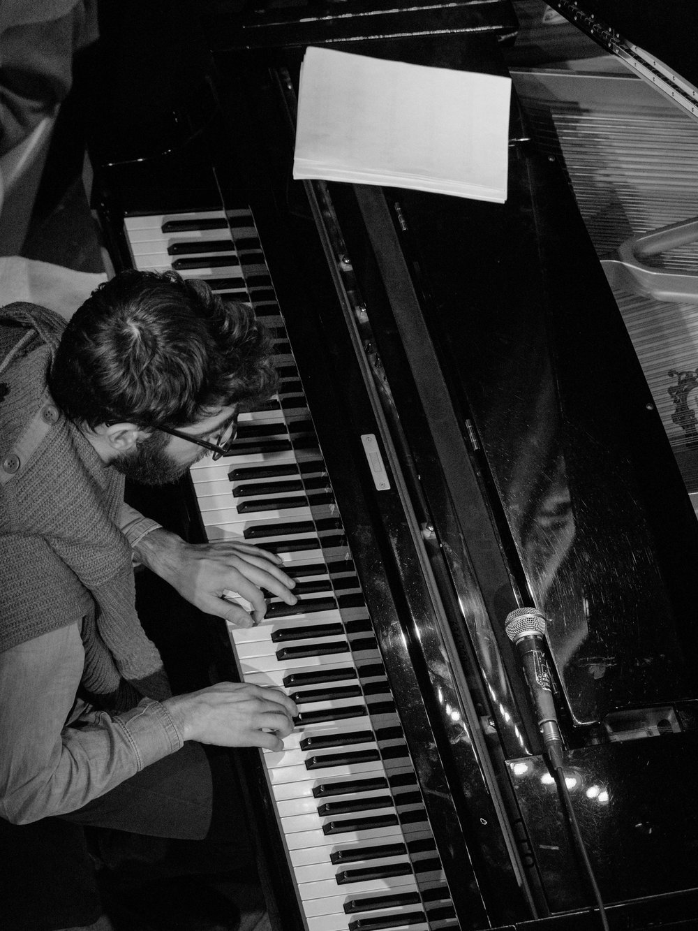 Pianist with Flash Pig