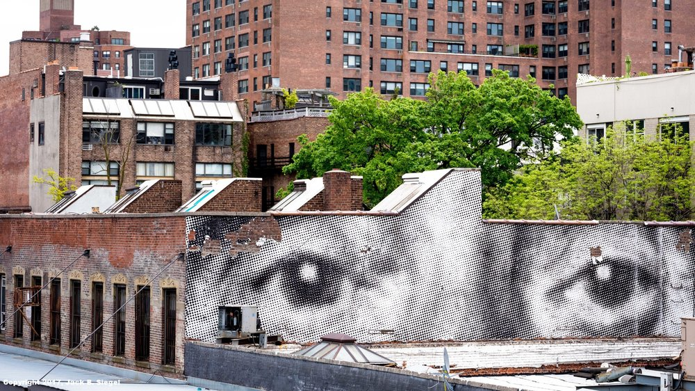 The Eyes of Doctor T. J. Eckleburg Watching the South End of the High Line