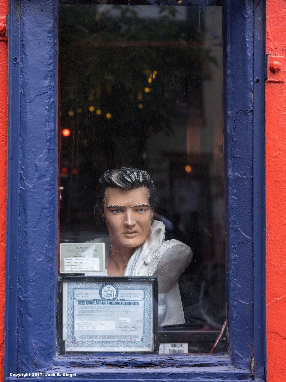 Elvis in the Bowery