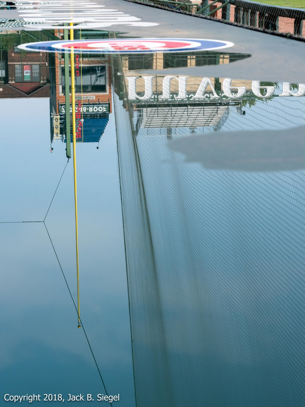 _DSF8662_Copyright 2018 jpeg_Reflected on the Roof of the Cubs Dugout.jpg