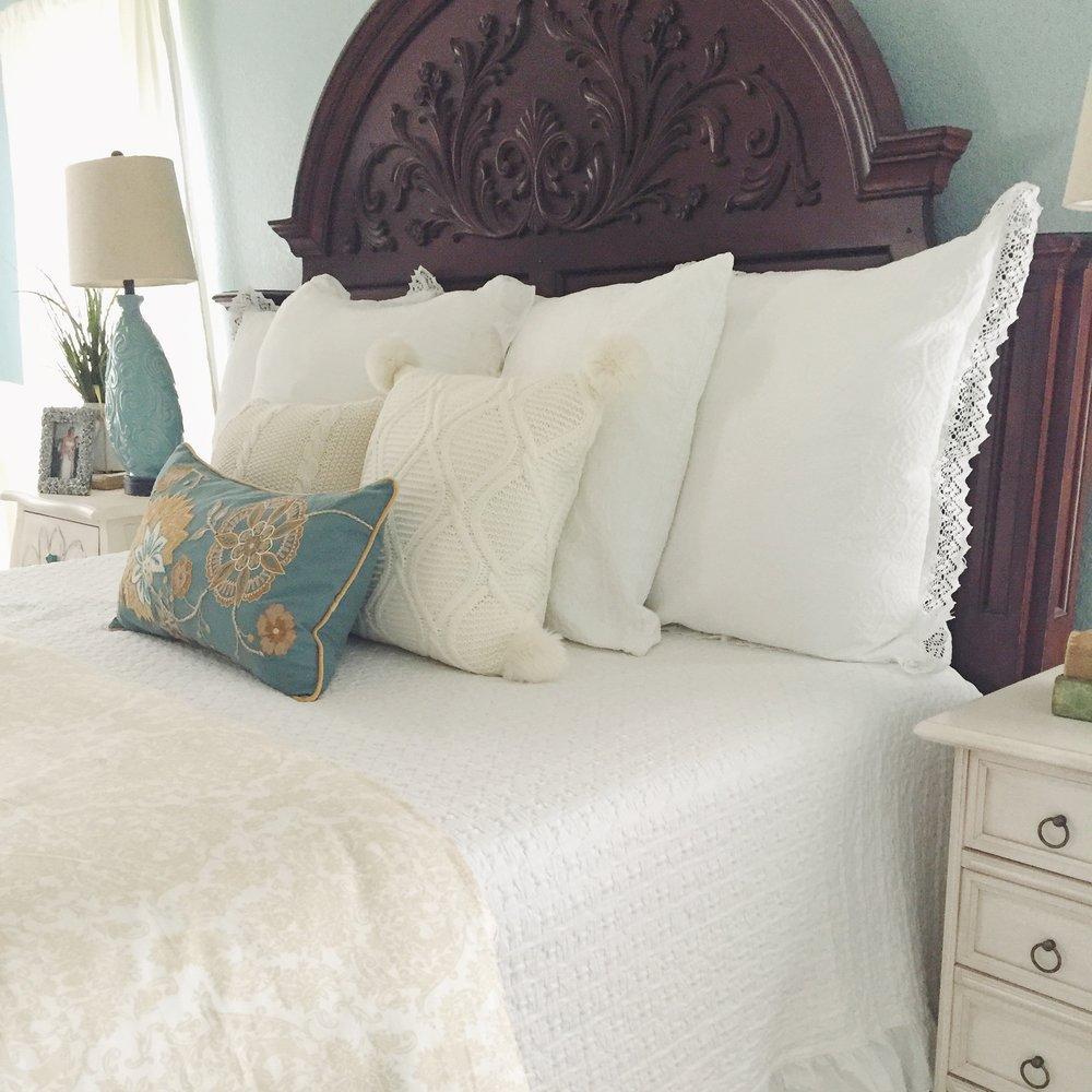 Shabby Chic master bedroom