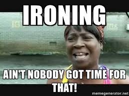 ironing meme