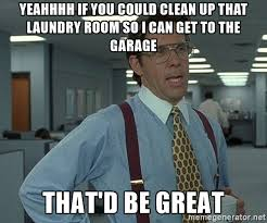 laundry room meme