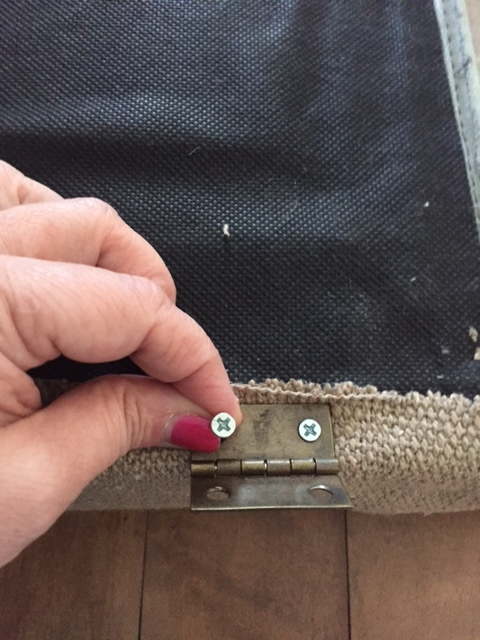 attaching fabric